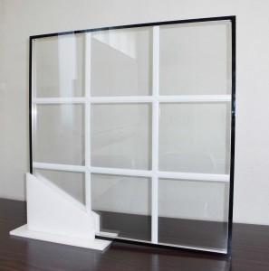 格子入り複層ガラス